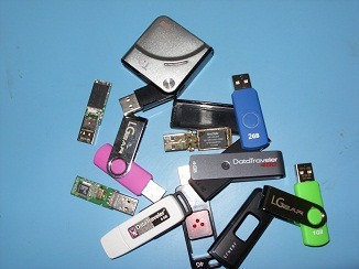 recovering data from USB flash sticks