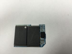 SD card memory chips
