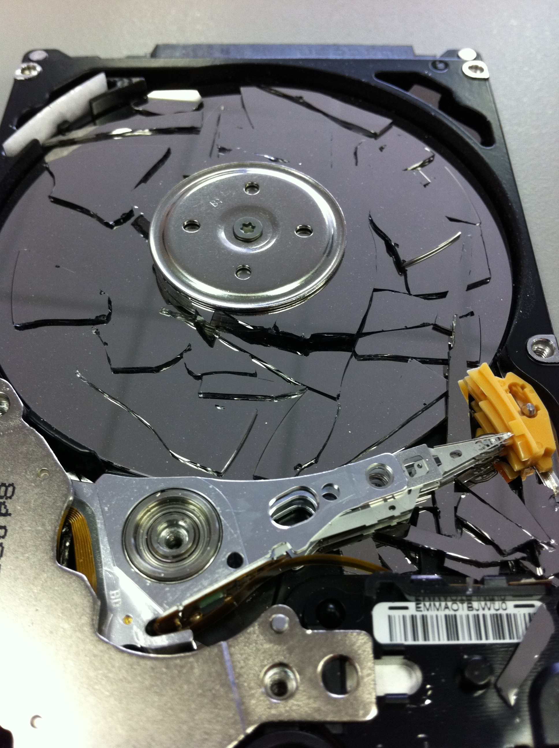 Glass Hard Drive : Crash of the glass memofix s data recovery