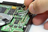 Data Recovery Process - Circuit Board Repair