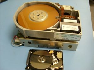 Old hard drive versus a new hard drive