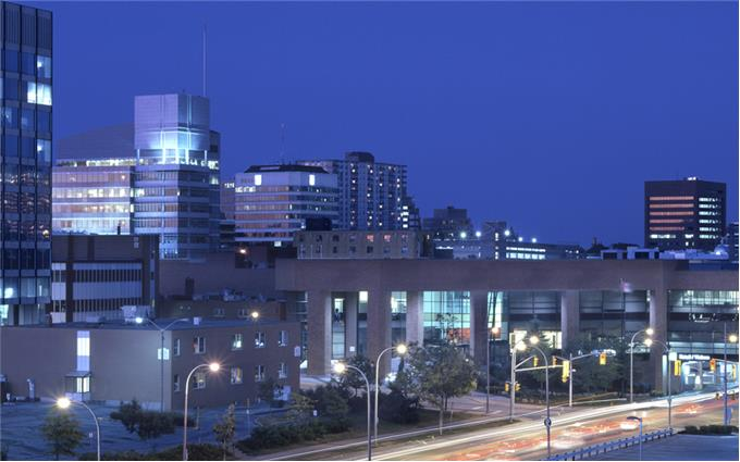 Kitchener night lights